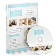 Debbie Shore - Curtains Made Easy - Video Tutorial DVD - SALE PRICE