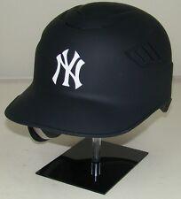 NEW YORK YANKEES MATTE COLOR Rawlings Coolflo Full Size Batting Helmet - Lefty