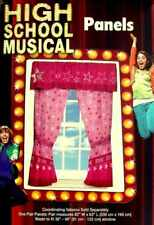 HIGH SCHOOL MUSICAL STARS VALANCE AND DRAPES WINDOW TREATMENT NEW