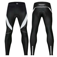 Men Cycling Tights Winter Thermal Padded Pants Cycle Long Trouser Legging WOSAWE