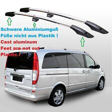 Dachreling Galerie pour Mercedes Vito Viano w639 w447 extra longue TÜV Abe