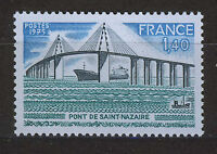 FRANCIA/FRANCE 1975 MNH SC.1457 Saint Nazaire bridge