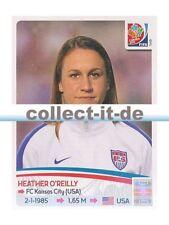 Panini Frauen WM World Cup 2015  - Sticker 263 - Heather O'Reilly