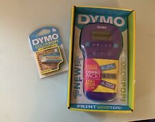 DYMO Color Pop Label Maker Printer Combo + 4 10ft Rolls Of Colored Tape New
