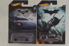 Hot Wheels Batman Dark Knight Rises Lamborghini Murcielago + The Bat Pod