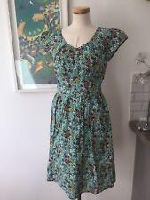 Seasalt Carnauba Dress - Vintage Floral Lake  - UK10 EU38 - Sales Sample SAVE!!