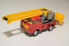 ? CORGI TOYS 64 JEEP FC 150 WORKING CONVEYOR ELEVATOR RED EXCELLENT CONDITION