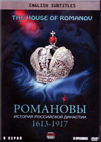2DVD  The Romanovs: A History of the Russian dynasty, 1613-1917 (8 Episodes)