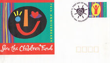 (13819) Australia Postal Stationery Fdc Save the Children Fund 1994