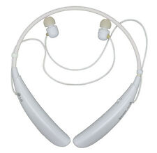 Genuine LG Tone Pro HBS-750 White Wireless Bluetooth Headset