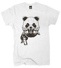 Wolkenbruch® T-Shirt Graffiti Panda vers. Farben Gr.S bis XXXXXL