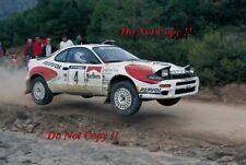 Carlos Sainz Toyota Celica Turbo 4WD Catalunya Rally 1992 Photograph 1