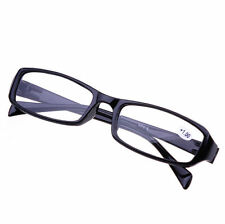 Durable Reading Glasses Presbyopia Black +1.00 Diopter Vision Health Care