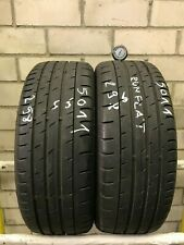 2x Sommerreifen Continental SportContact 3 205/45 R17 84V SSR 298 6,0mm Runflat