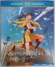 BLU-RAY - NISEMONOGATARI - Edition Saphir - Série intégrale 11 épisodes Manga