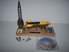 1/69 Revell V-2 Rocket Meillerwagon Trailer Launch Pad Built Hardwood Base & Dvd
