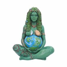 More details for new ethereal mother earth gaia art statue painted figurine 30cm e5243