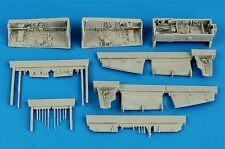 Aires 1/48 Sepecat Jaguar wheel bay for Kitty Hawk kit # 4595