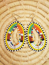 New African Maasai Earrings Masai Massai Africa S/M jemo439