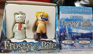 RARE Bad Taste Bears Frost Frosty and Bite Twin Set only 600 pieces