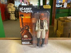 "2021 Mego Toys Planet of the Apes DR. ZAIUS 8"" Action Figure MOC - IN STOCK"