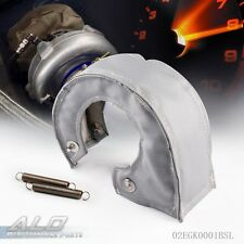 Turbo Blanket Heat Shield Turbocharger Cover Wrap For T4 T04b GT30 GT32 Silver