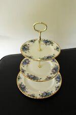 Royal Albert Moonlight ROSE 3 piani tè pomeridiano/Supporto per Torta parkinsons associazione di beneficenza