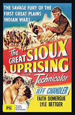 The Great Sioux Uprising DVD Jeff Chandler Plays Worldwide NTSC 0