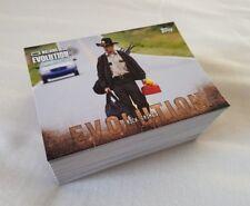 Topps Walking Dead Evolution Trading Card Base Set