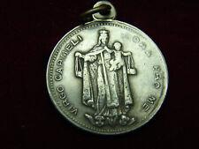 Jolie ancienne médaille Virgo Carmeli, notre dame du Carmel