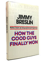 Jimmy Breslin HOW THE GOOD GUYS FINALLY WON  1st Edition 1st Printing