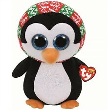 Ty Beanie Babies 37148 Boos Penelope the Christmas Penguin Boo Buddy