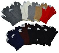 Man Lady Magic Knit Touchscreen iPhone Gloves Wholesale 12 Pairs New York