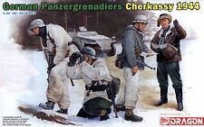 Dragon 1/35 6490 WWII German Panzergrenadiers (Cherkassy 1944) (4 Figures)