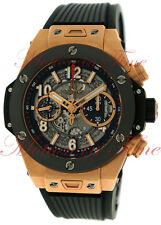 Hublot Big Bang UNICO Chrono 45mm Rose Gold & Ceramic Mens Watch 411.OM.1180.RX