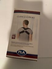 FLA Orthopedics Prolite Deluxe Clavicle Support, Black, Large