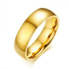 Ring Lover Wedding Jewelry Engagement Women Men Ring Stainless-Steel Couple Gold