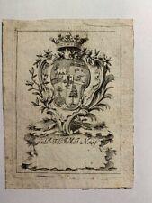 Ex-libris Alsace NEEF, F.L.J.M.L., Moeder 309 b, 70 x 51 mm - 18 e