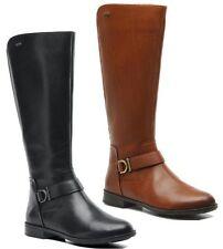 Clarks Zip Cuban Heel Boots for Women