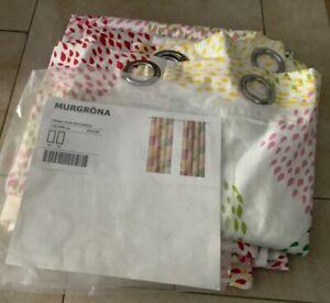 Vorhang, Schals, 2 Stück, Ikea, Murgröna, 145 x 300 cm