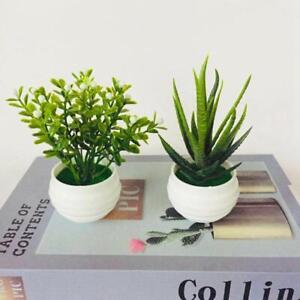 Mini Artificial Table Aloe Plants Bonsai Home Garden Décor Small Simulated Tree