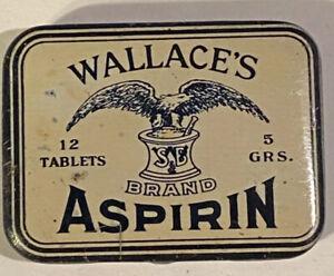 Wallace's Aspirin Tin