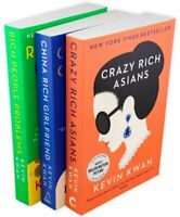 Kevin Kwan Crazy Rich Asians Trilogy Collection 3 Books Set Pack NEW