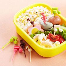 16pcs Musical Note Shape Food Fruit Fork Picks for Party Cake Dessert Bento_Fork