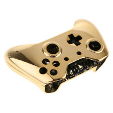 For Xbox One E Controller Case Protective Skin Shell Front Housing Chrome Gold