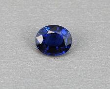 Saphir blau  0,68 ct  blue Sapphire  Myanmar  koxgems