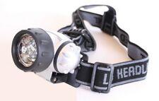 LED Linterna de cabeza Frontal Lámpara Luz trabajo JOGGING