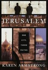 Jerusalem: One City, Three Faiths, Karen Armstrong..Like New Hardcover!!