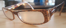 GUESS GU 1478 BRNT Designer Eyeglass Frames Orange Zebra  51 [] 15 135 mm w/Case