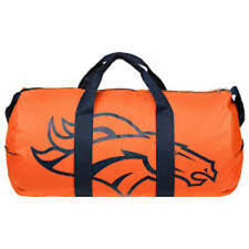 NFL DENVER BRONCOS VESSEL BARREL DUFFLE GYM BAG 2017 STYLE TRAVEL LUGGAGE